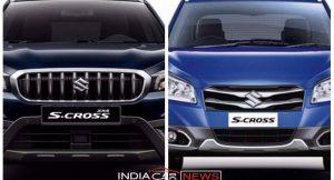 New Maruti S Cross Vs Old S Cross
