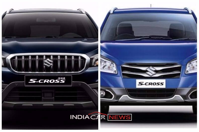 New Maruti S Cross Vs Old S Cross