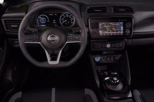 New Nissan Leaf 2018 interior