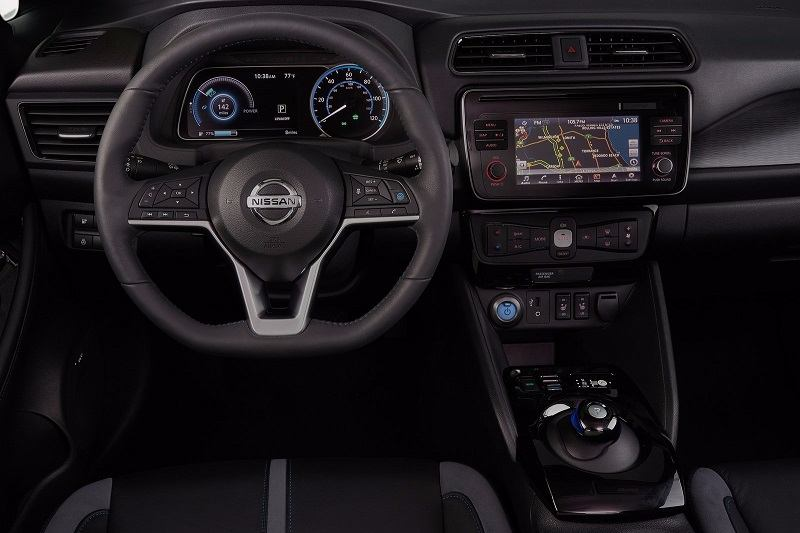 New Nissan Leaf 2018 interior