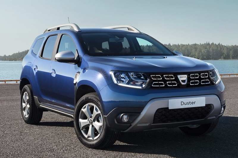 New Renault Duster 2018 in blue