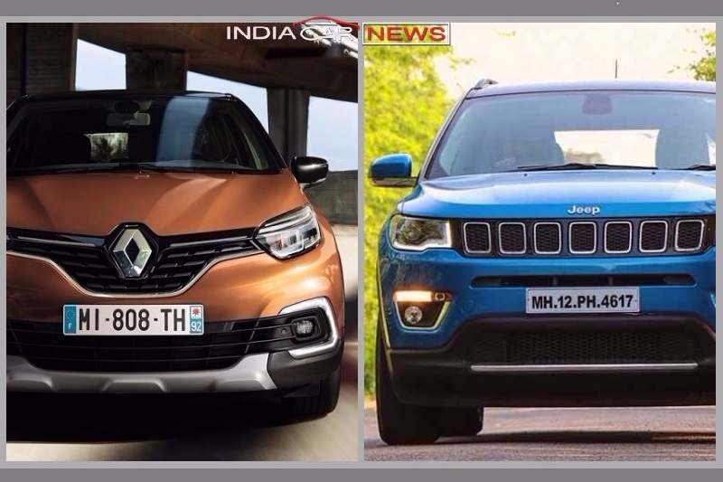 Renault Captur Vs Jeep Compass