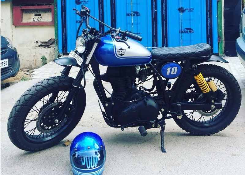 Modified Royal Enfield Bullets