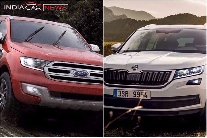 Skoda Kodiaq Vs Ford Endeavour