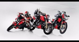 TVS Apache RTR Matte Red