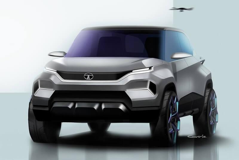 Tata H2X Concept Sketch (1)