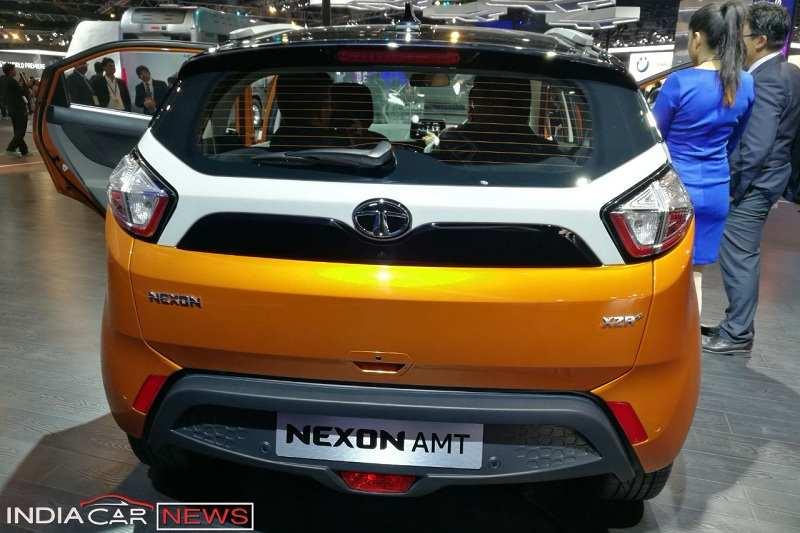 Tata Nexon AMT rear