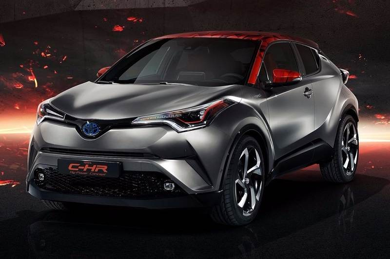 Toyota CHR HyPower Concept Features