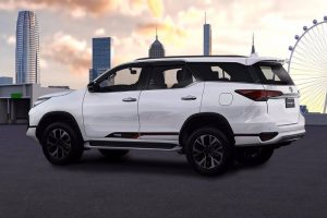 Toyota Fortuner TRD Sportivo India Side