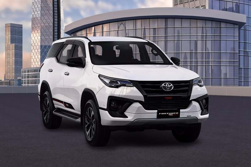 New Toyota Fortuner Trd Sportivo India Price Specs Images Features