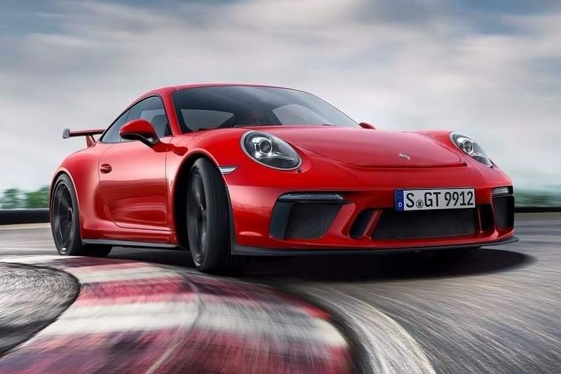 2017 Porsche 911 GT3 India 6