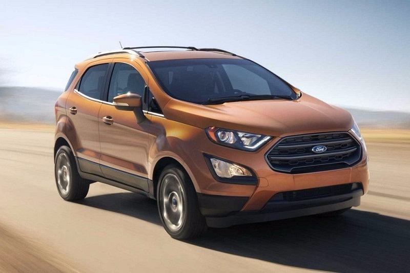 2018 Ford EcoSport Dragon Engine