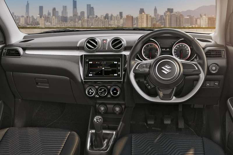 2018 Maruti Suzuki Swift Dashboard
