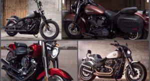 2018 Softail Range Motorcycles