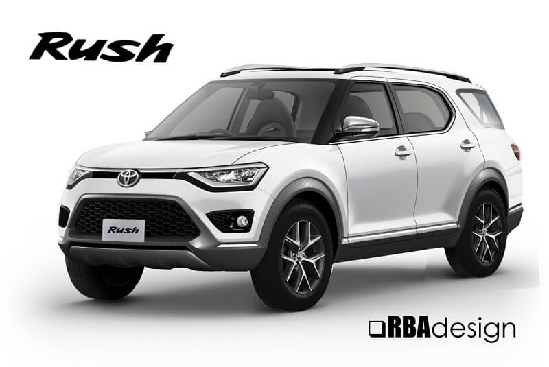 Upcoming 7 Seater Suv In India 2018 >> 2018 Toyota Rush 7 Seater Coming On November 23; Interior Leaked