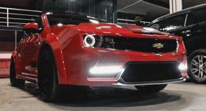 Camaro Inspired Chevrolet Cruze
