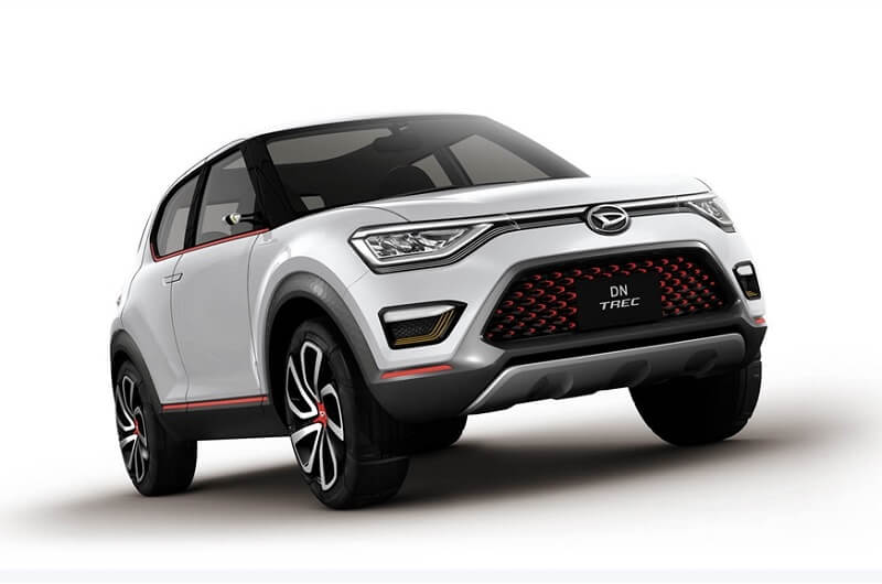 daihatsu dn trec compact suv concept revealed pictures details. Black Bedroom Furniture Sets. Home Design Ideas