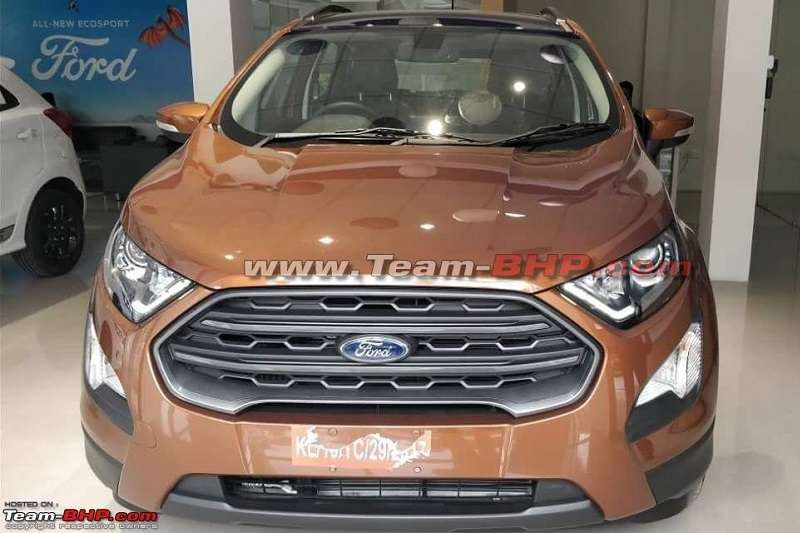 2018 ford ecosport titanium s price launch specs features. Black Bedroom Furniture Sets. Home Design Ideas