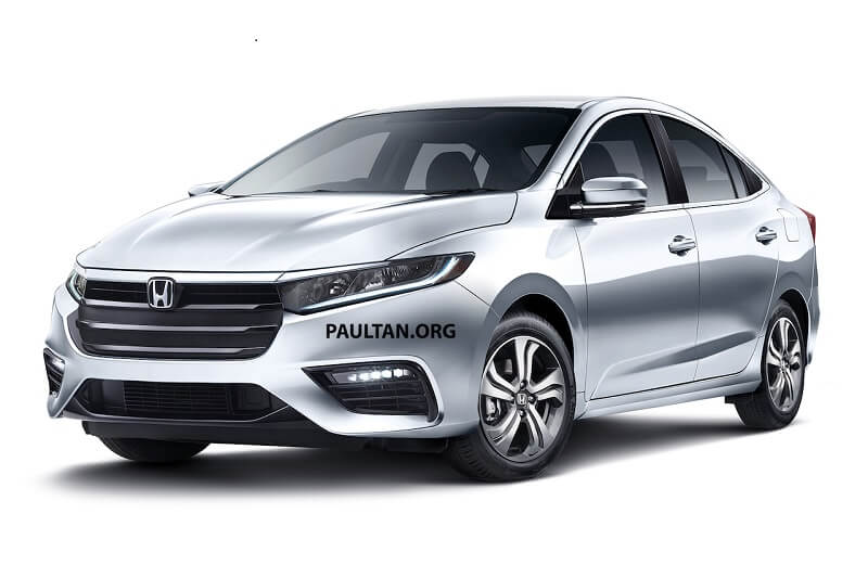 Honda City 2020 Rendering
