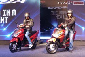 Honda Grazia Mileage