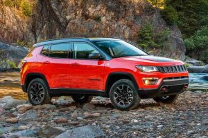 Jeep Compass Trailhawk India Alloys