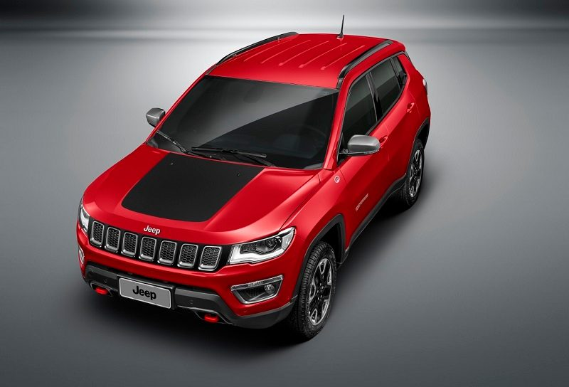 Jeep Compass Trailhawk India Top View