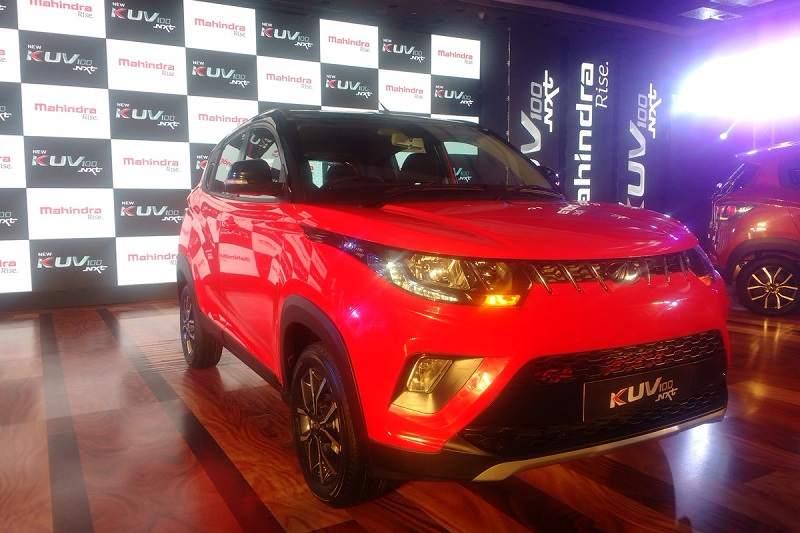 New Mahindra KUV100 NXT