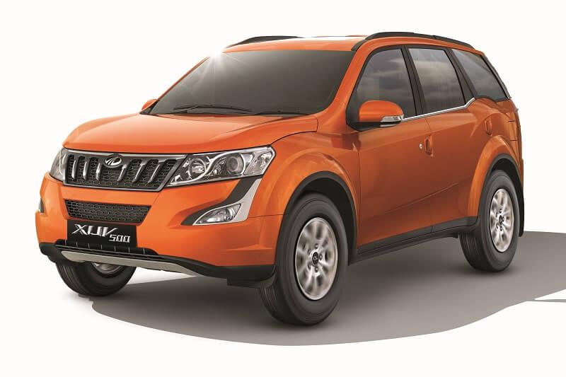 Mahindra XUV500 W9 Variant