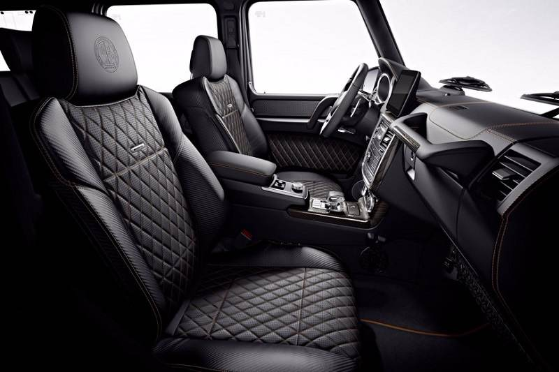 Mercedes AMG G65 Final Edition Interior