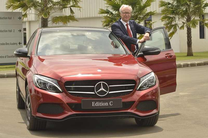 2017 Mercedes C-Class Edition C