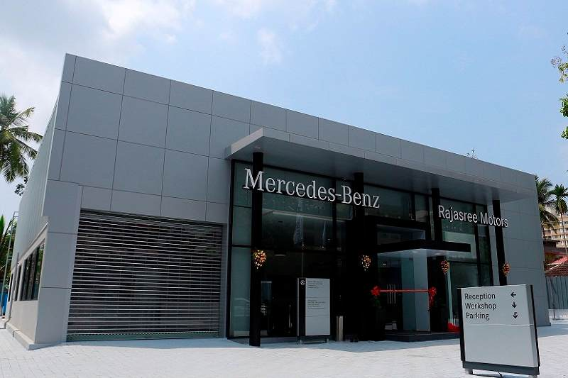 Mercedes-Benz India Body & Paint center Kochi