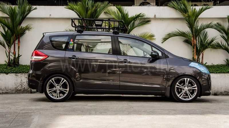 Modified Maruti Suzuki Ertiga Side India Car News