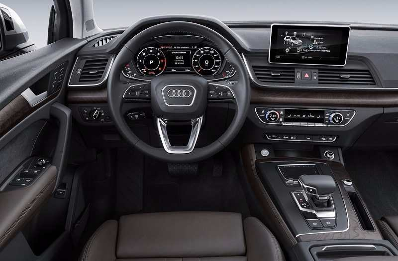 New Audi Q5 2018 India interior features