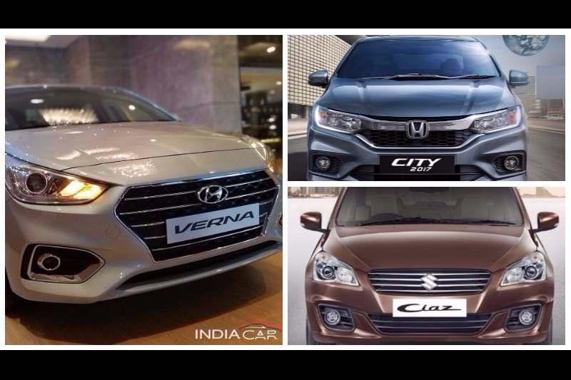New Hyundai Verna Beats City