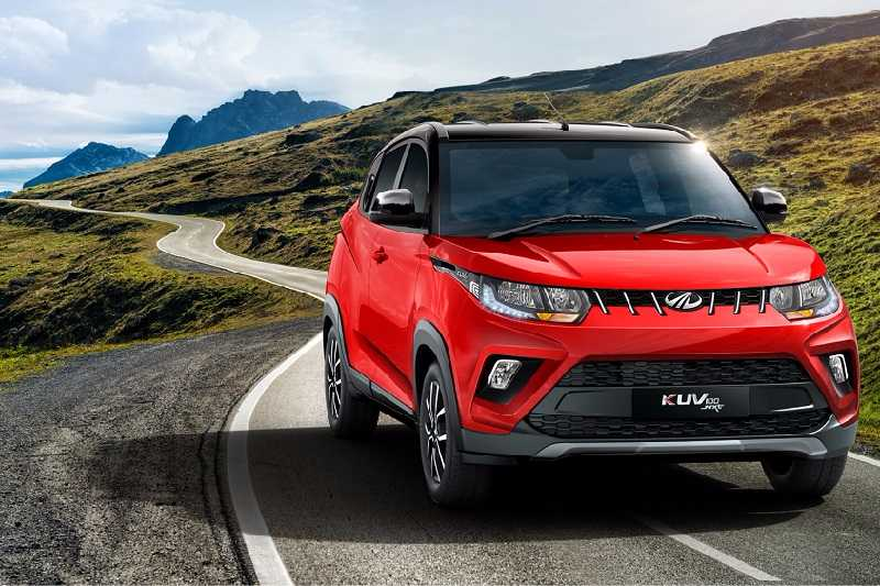 New Mahindra KUV100 NXT launch in India