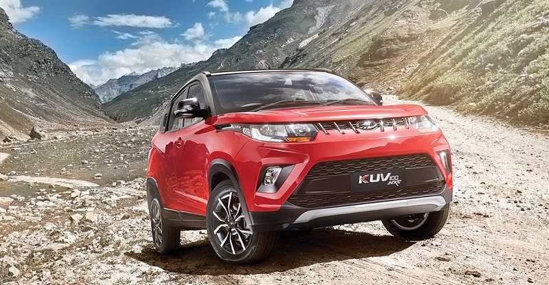 New 2017 Mahindra KUV100 NXT facelift