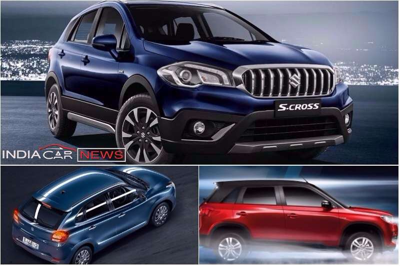 New Maruti S-Cross Vs Baleno Vs Vitara Brezza