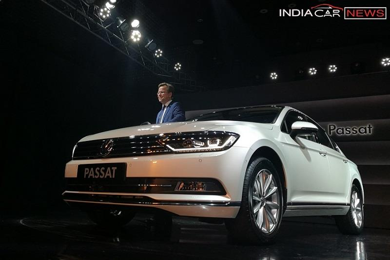 New Volkswagen Passat 2017 India 2