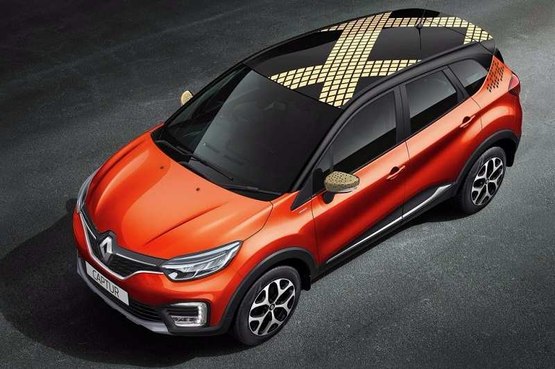 Renault Captur Diamond Deck