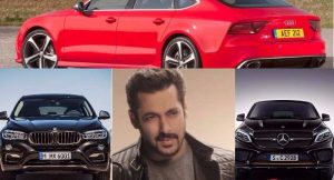 Salman Khan Cars Collection