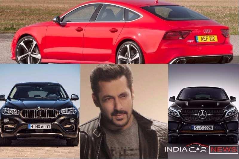 Salman Khan Cars Collection