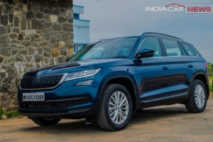 Skoda Kodiaq Review Front 3-quarter