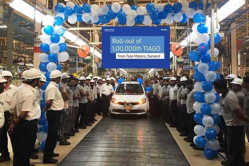 Tata Tiago 1 Lakh Unit