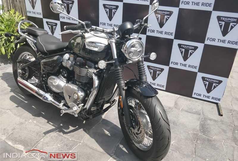 Triumph Bonneville Speedmaster Colours