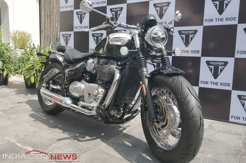 Triumph Bonneville Speedmaster Price In India Specs Features