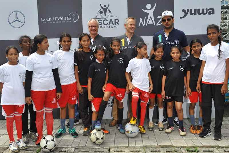 Yuvraj Singh Laureus Sport For Good