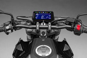2018 Honda CB300R Unveiled Instrument Console
