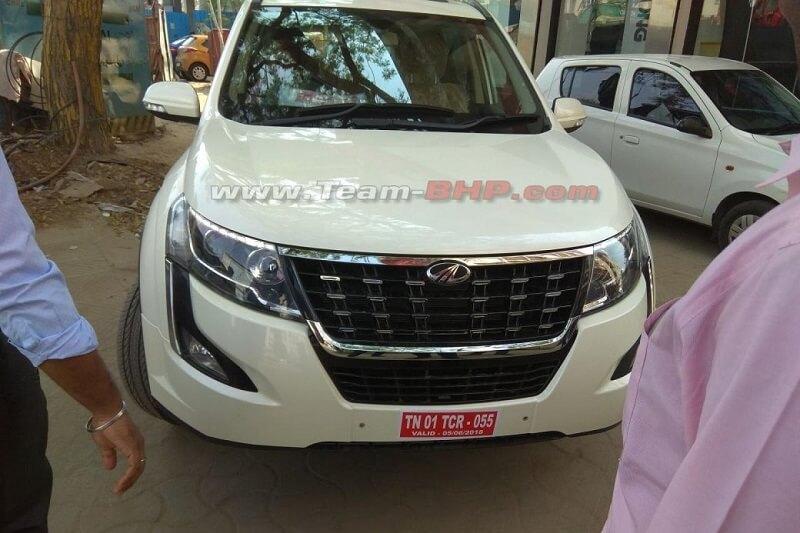 2018 Mahindra XUV500 Leaked (1)