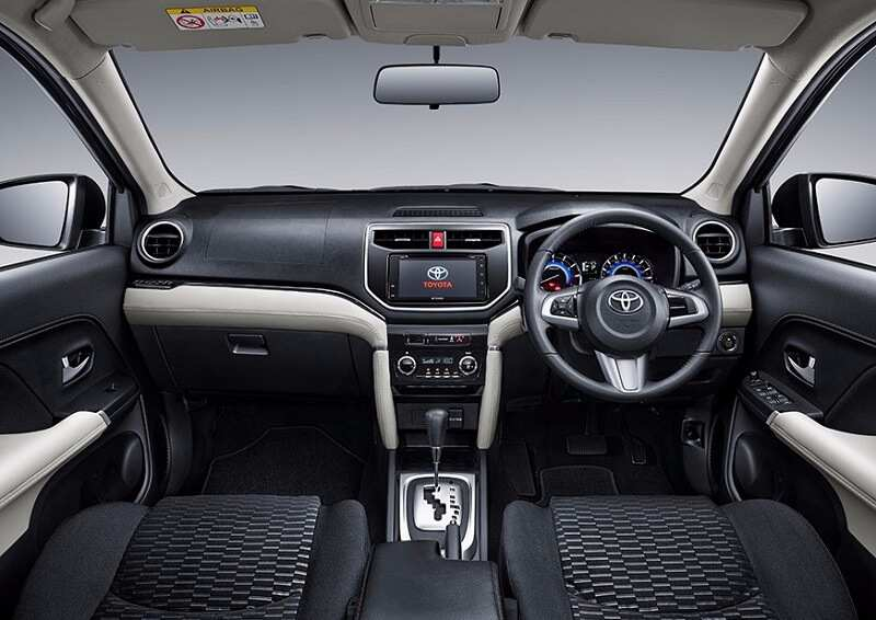 2018 Toyota Rush Interior