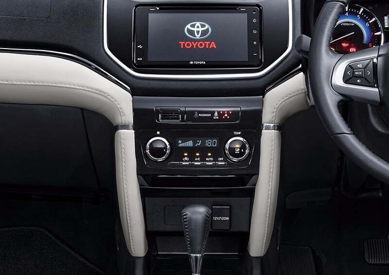 Toyota Rush Touchscreen Infotainment System